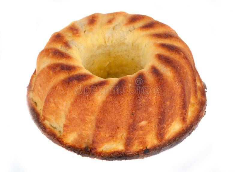 Cake isolated. On white background stock photos