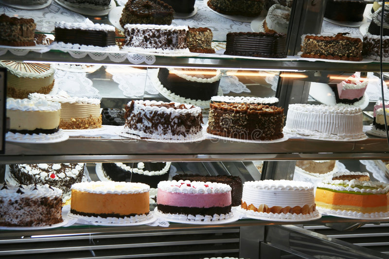 Cake market royalty free stock photos
