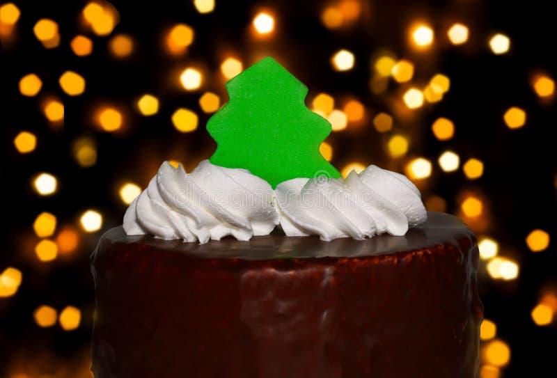 Cake met Visgraat royalty-vrije stock afbeelding