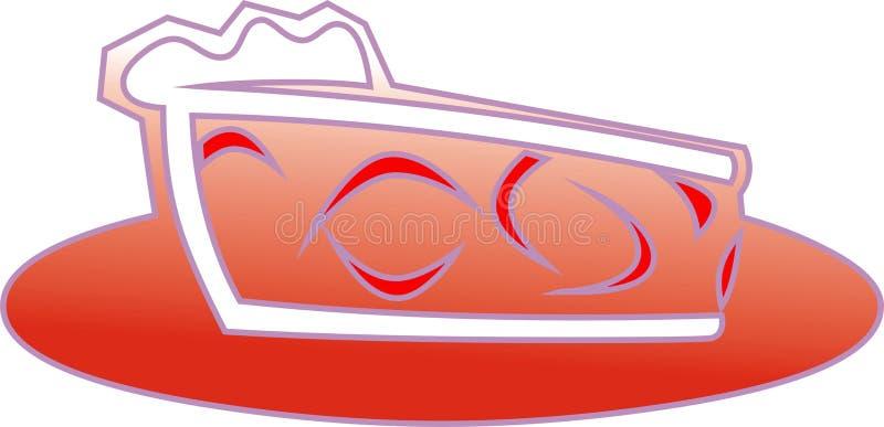 Download Cake piece stock illustration. Illustration of food, graphic - 12572455