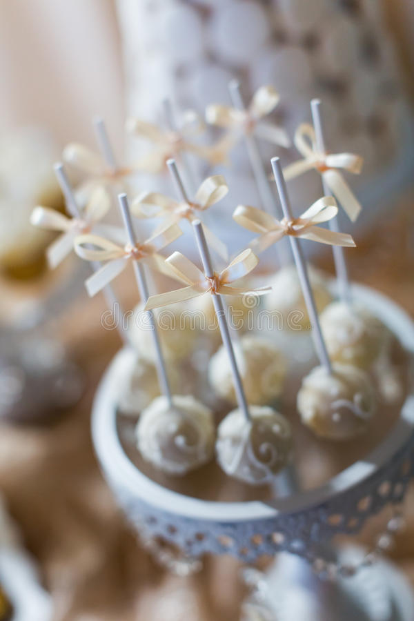 Download Cake pops and cupcakes stock photo. Image of dessert - 34501434