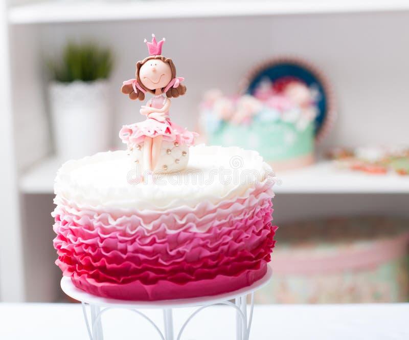Cake princess royalty free stock images