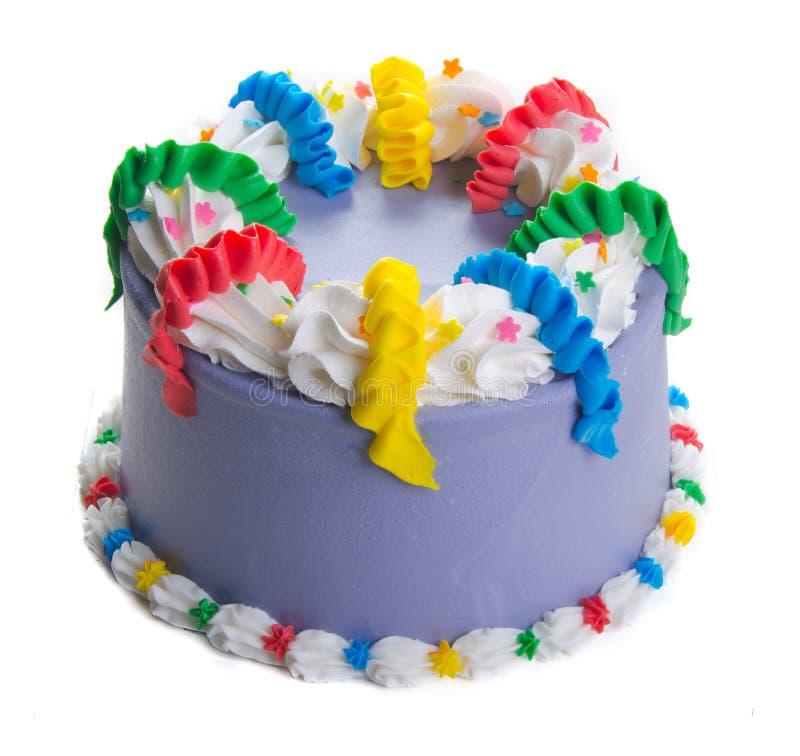 Cake roomijscake op achtergrond stock fotografie