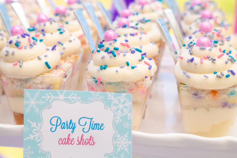 Cake Shots royalty free stock photo
