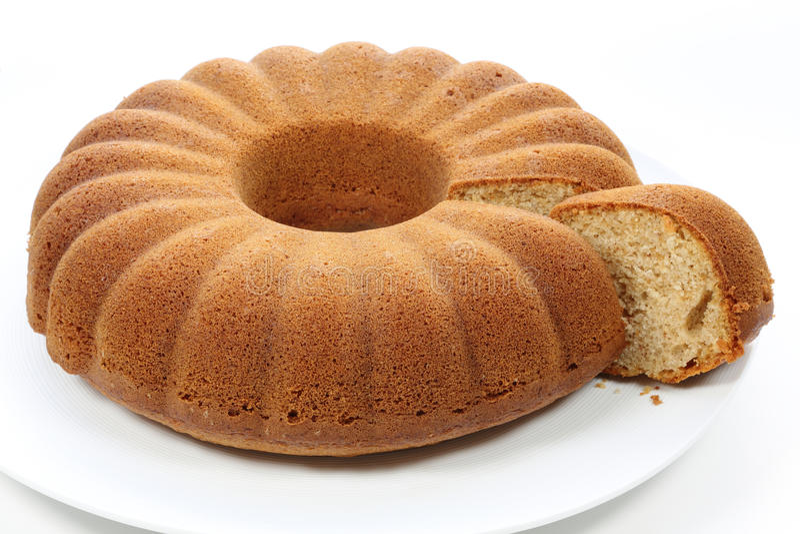 Cake. Slice of lemon cake on a plate stock photography