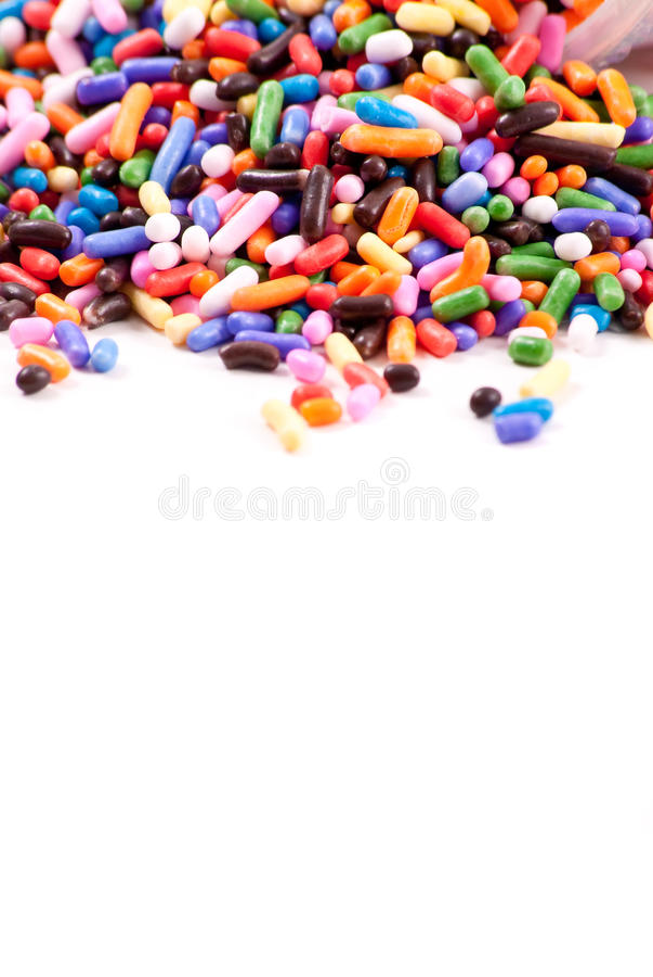 Free Cake Sprinkles Background Stock Photography - 17795692