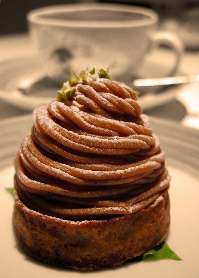 Cake temptation royalty free stock images