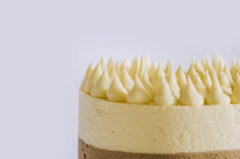 Cake Three Chocolate stock foto's