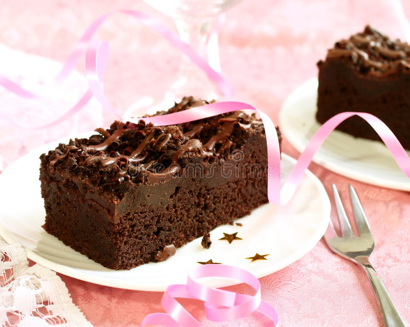 Download Cake Truffle With Black Chocolate Stock Images - Image: 19766994