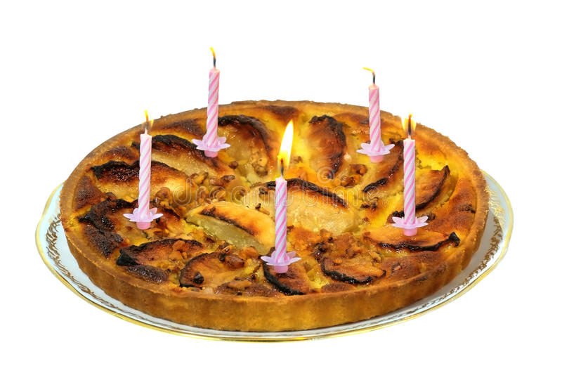 Cake twee stock foto