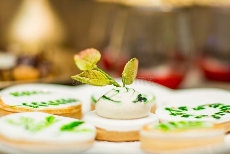 Cake voor suikergoedbar stock fotografie