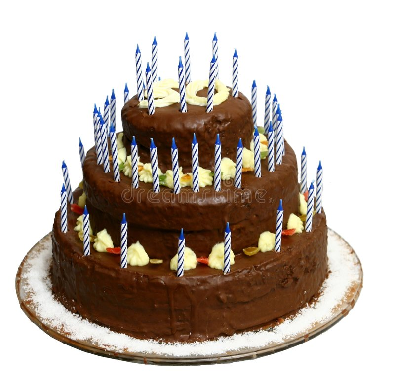 Free Cake With Number 50 Stock Photography - 3720932
