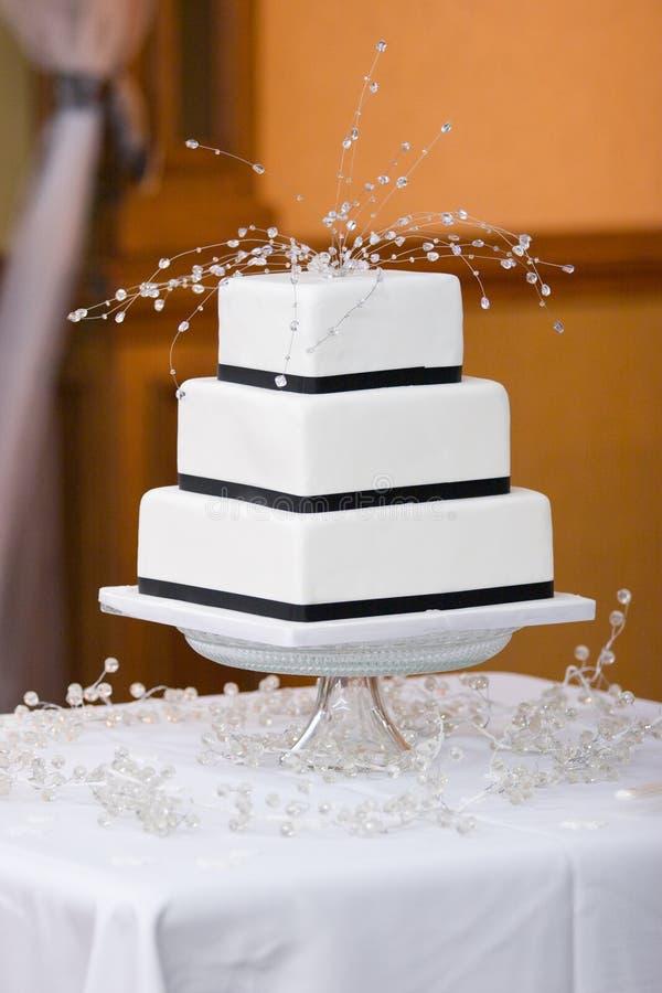 cakebröllop royaltyfria foton