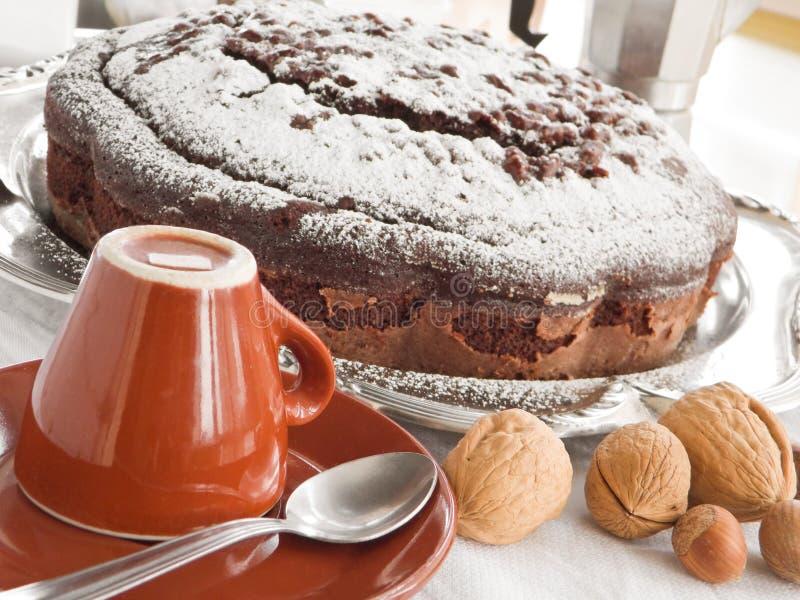 cakechokladmuttrar arkivfoto