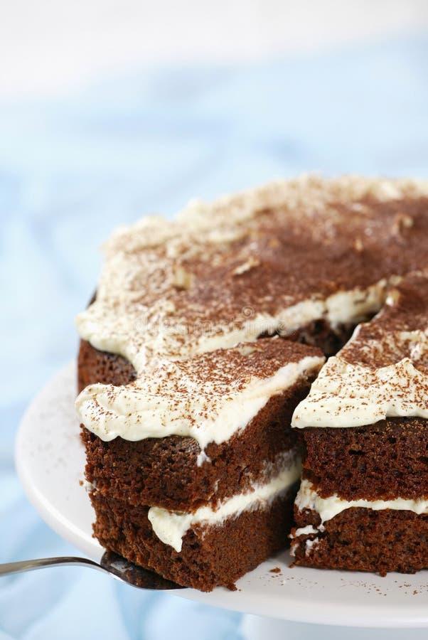 cakechokladpralinmascarpone royaltyfria foton
