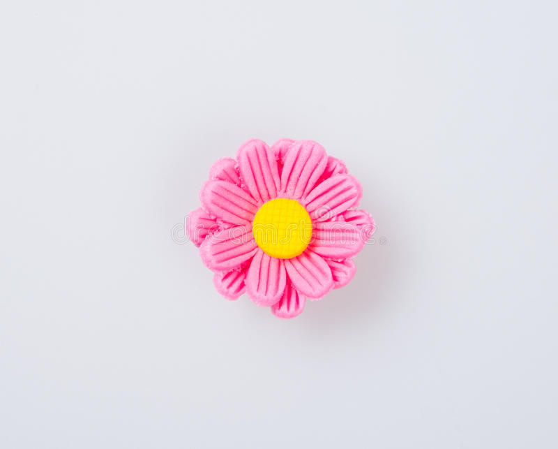 cakedecoratie of van de cakedecoratie bloem op een achtergrond stock foto