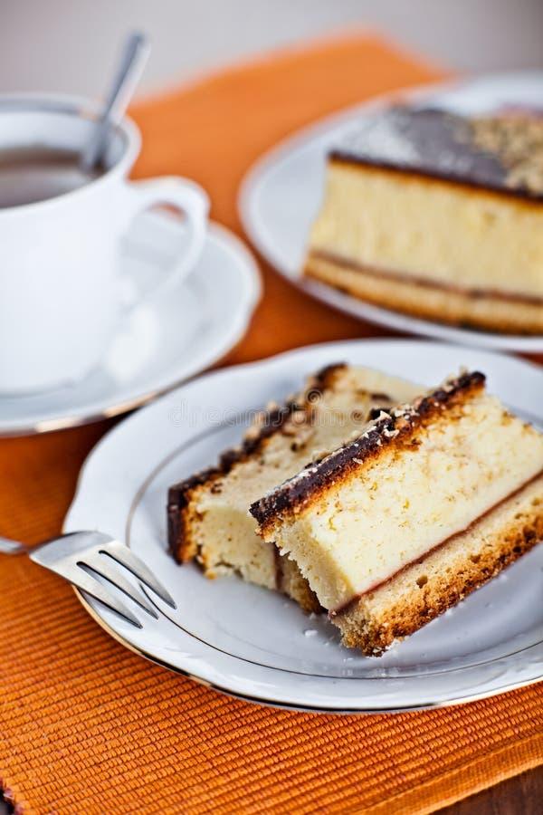 Download Cakeostkaffe arkivfoto. Bild av vertikalt, socker, sås - 19790074