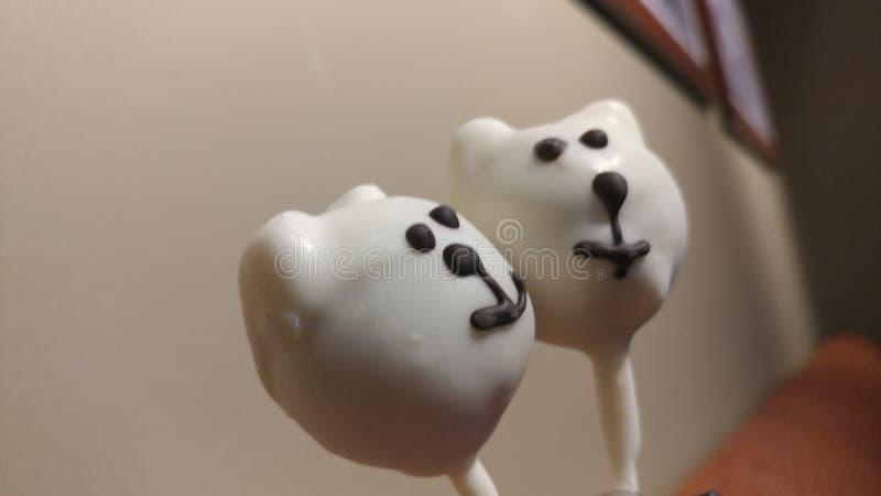 Cakepops royalty-vrije stock foto's