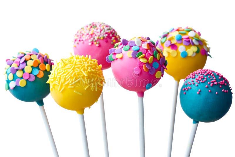 cakepops royaltyfria bilder