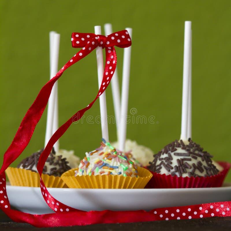 Cakepops fotografie stock