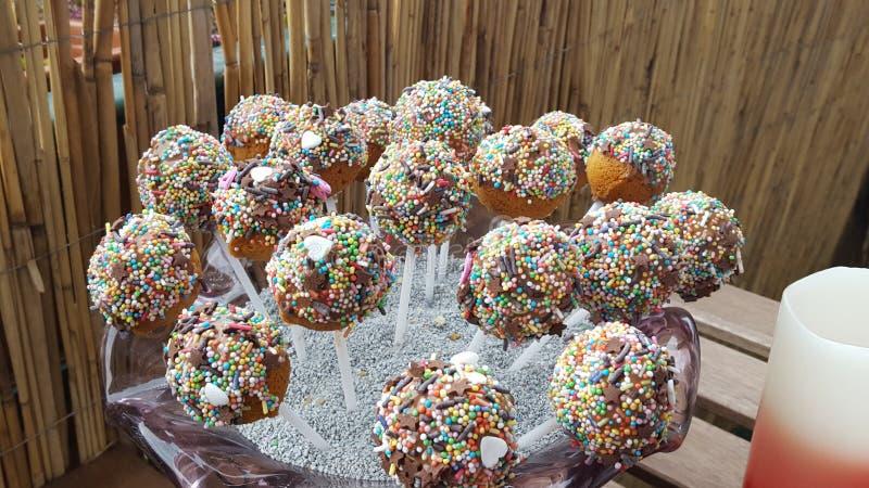 Cakepops fotografia stock