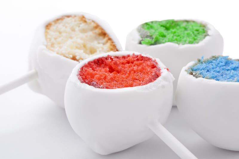 Cakepops de Colorfull foto de stock