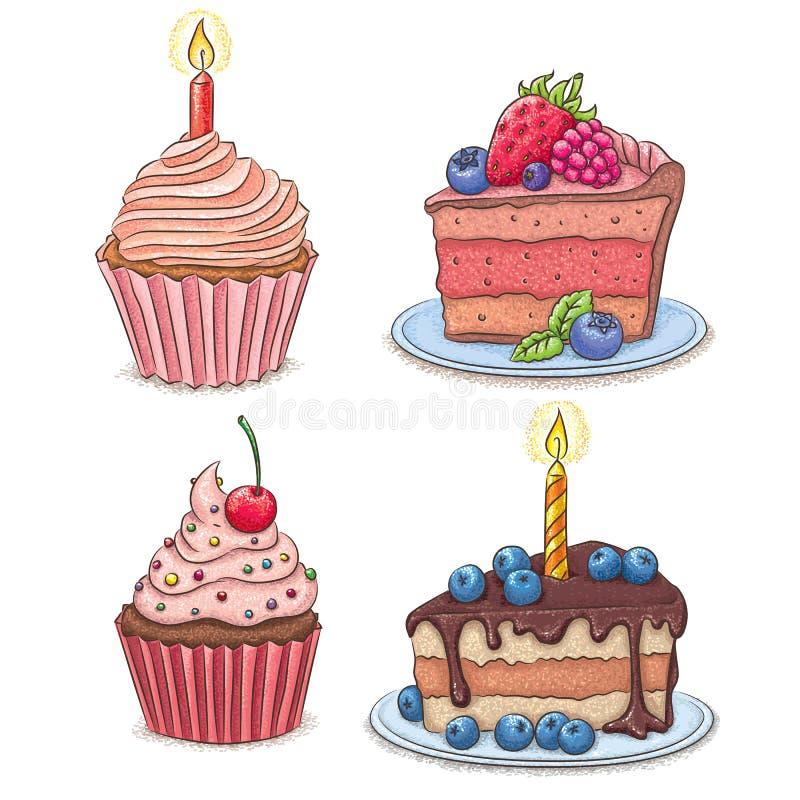 cakes vector illustratie