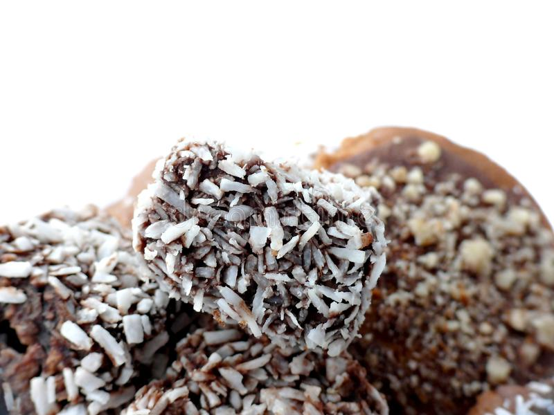 Download Cakes With Coconuts And Gingerbreads Stock Photo - Image: 12222748