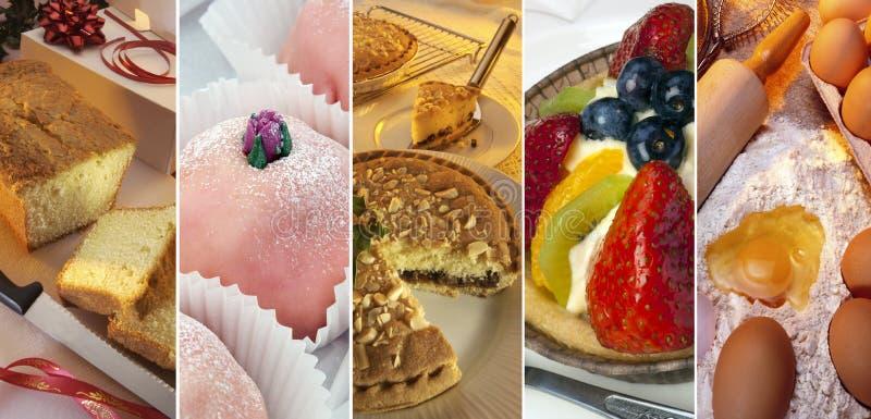 Cakes, Sweets, Deserts - Baking royalty free stock photo