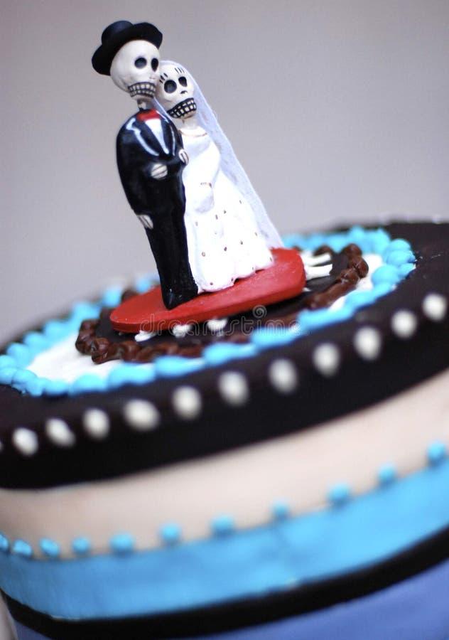 cakeskalle royaltyfria foton