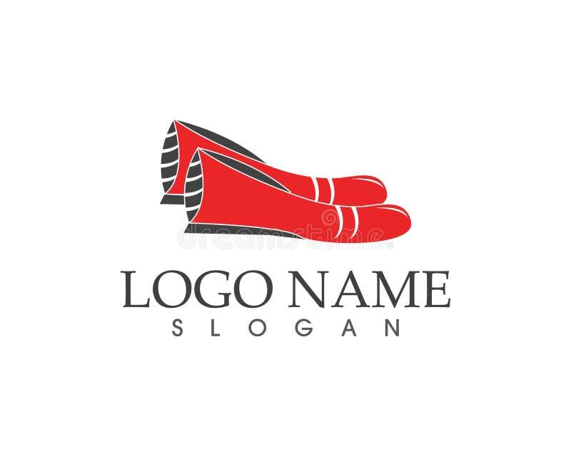 Calça o vetor do logotipo do ícone ilustração royalty free