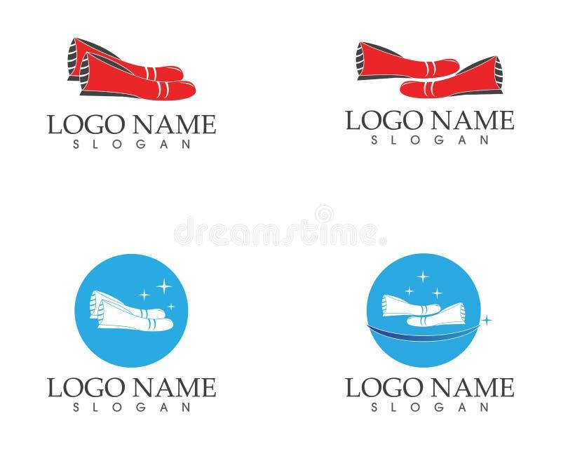 Calça o vetor do logotipo do ícone ilustração do vetor