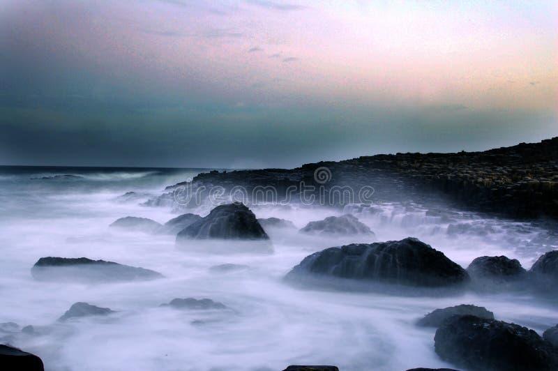 Calçada de Giants, Irlanda do Norte foto de stock royalty free