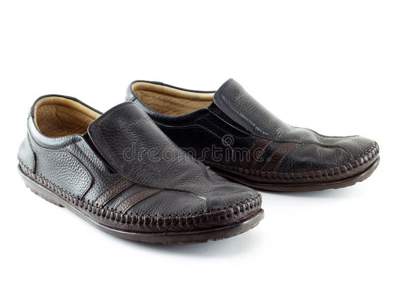 Calçados casuais de couro foto de stock