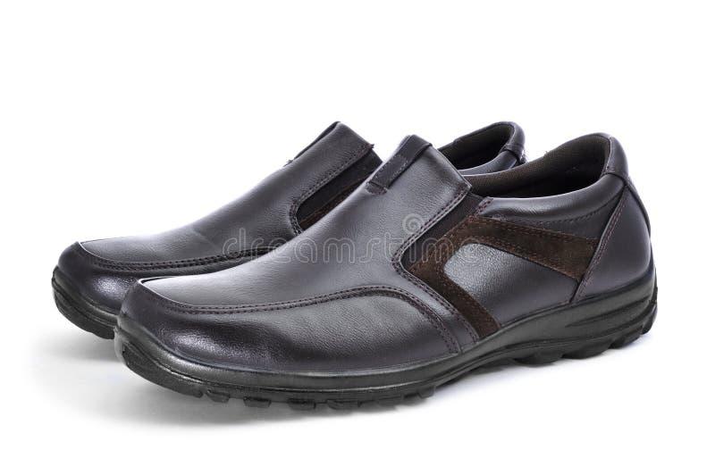 Calçados casuais para o homem fotos de stock royalty free