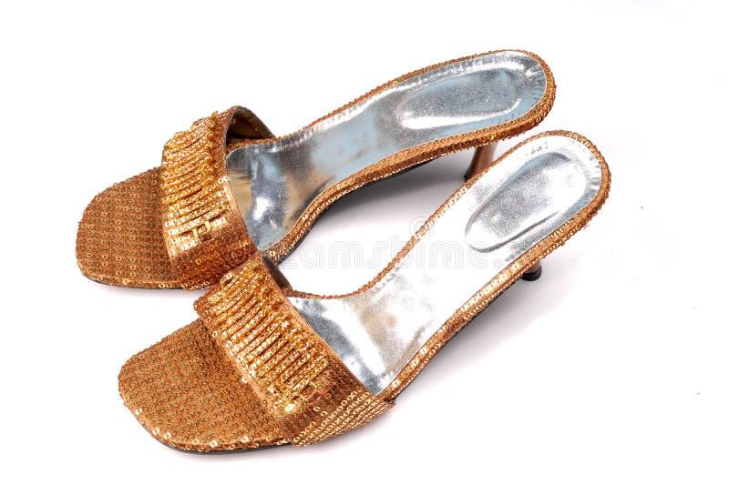 Calçados das senhoras fotografia de stock