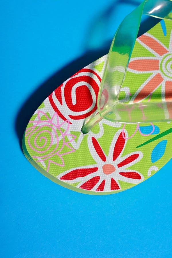 Calçados do verão imagens de stock