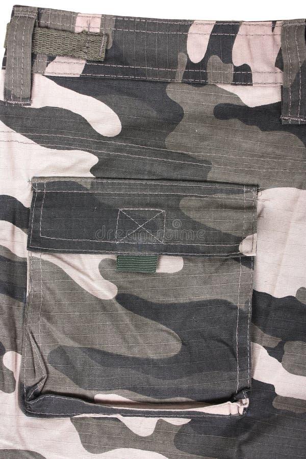 Calças completas do bolso do close-up foto de stock royalty free
