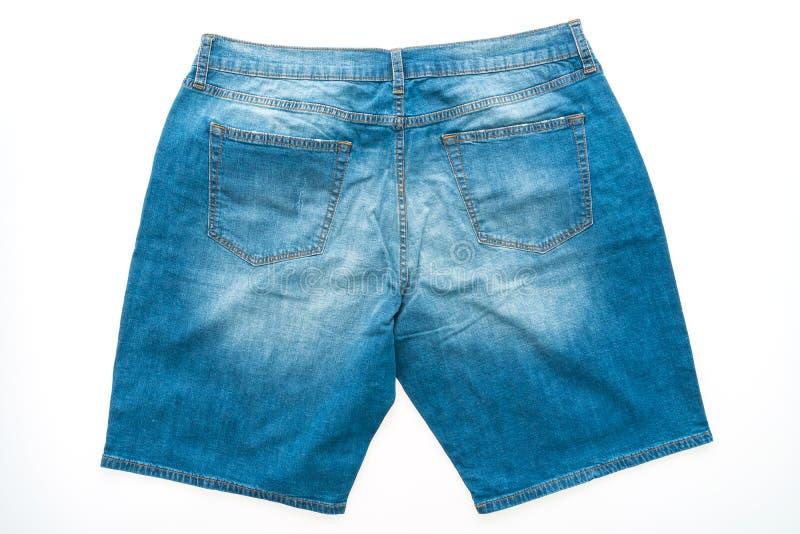 Calças curtos das calças de brim imagem de stock royalty free