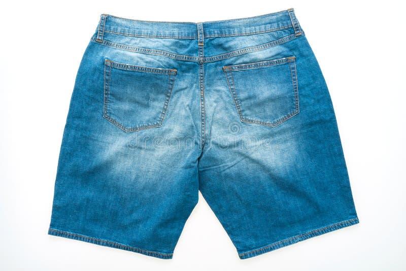Calças curtos das calças de brim fotos de stock royalty free