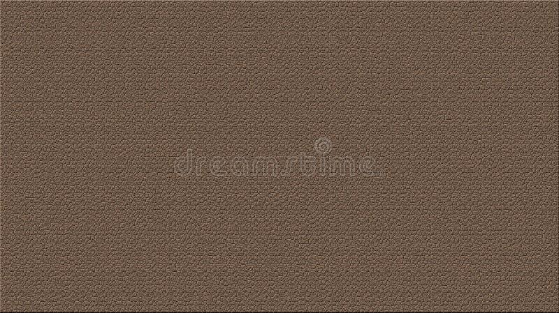 Calças das calças da textura de brim de Brown ilustração do vetor