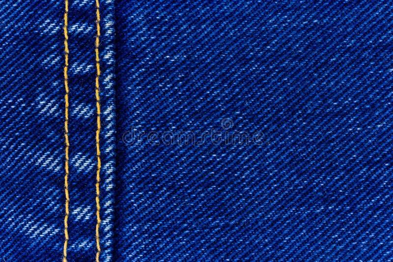 Calças de brim sarja de Nimes e emenda imagens de stock royalty free