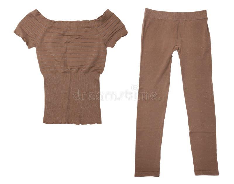 Calças extravagantes e uma camisa imagem de stock royalty free