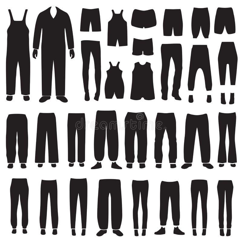 calças isoladas vetor ilustração do vetor