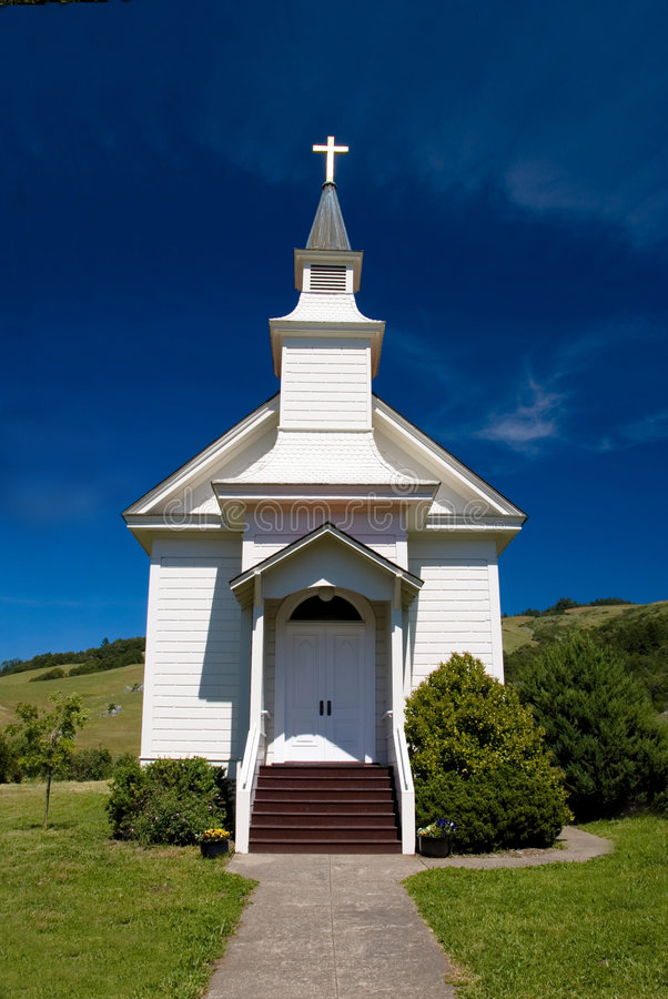 cal教会北小 免版税库存照片