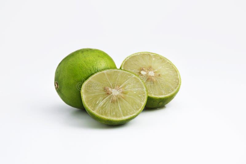 Cal de la fruta con el fondo blanco fotografía de archivo