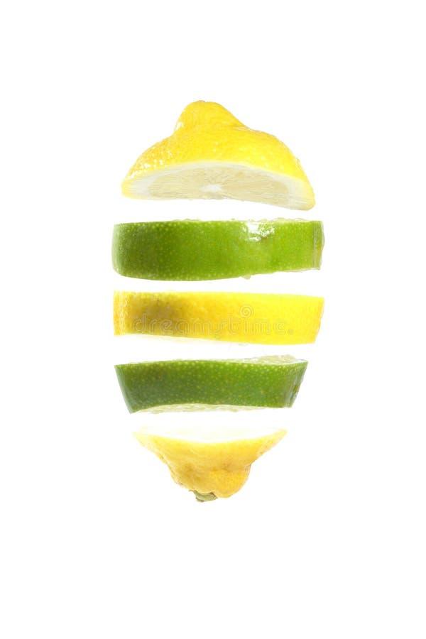 Cal del limón imágenes de archivo libres de regalías