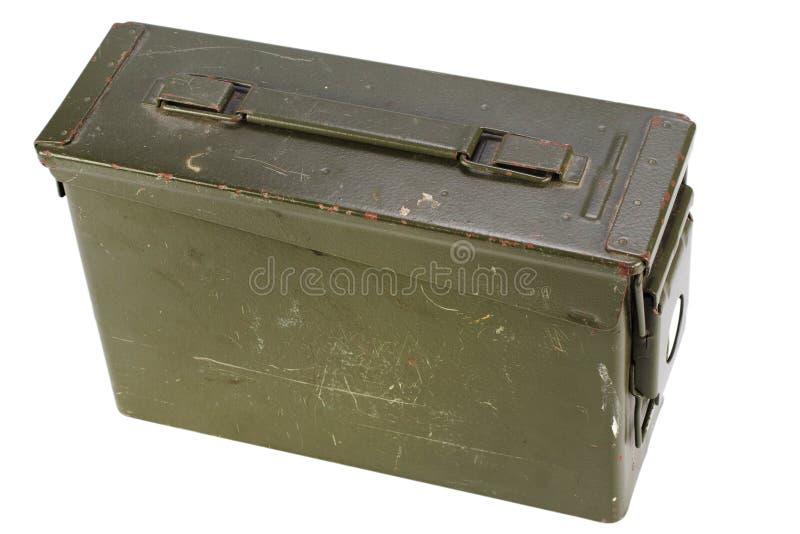 30 Cal Metal Ammo Can fotografia de stock