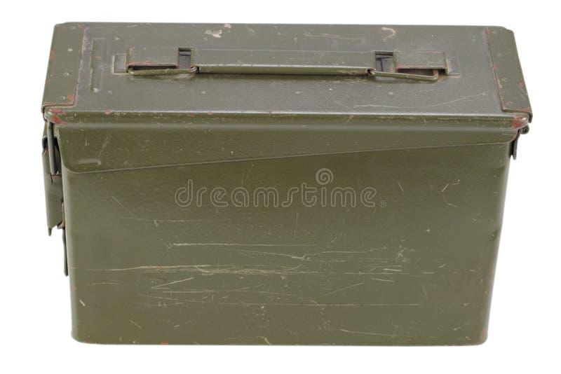 30 Cal Metal Ammo Can imagem de stock