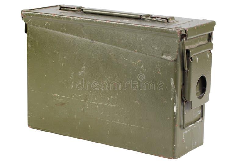 30 Cal Metal Ammo Can imagem de stock royalty free